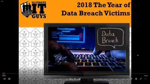 2018 Year of The Data Breach Victims