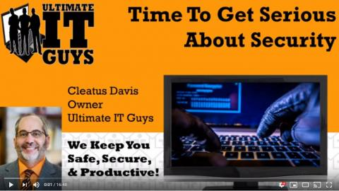 Time to get serious about security webinar