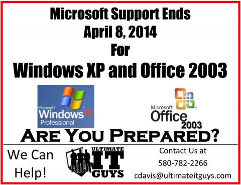 XP is going away