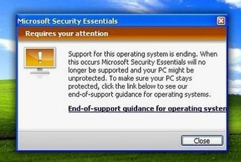 Microsoft Security Essentials Requires Your Attention
