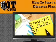 How to create a disaster plan