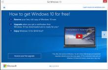 Get Windows 10 Upgrade Notice
